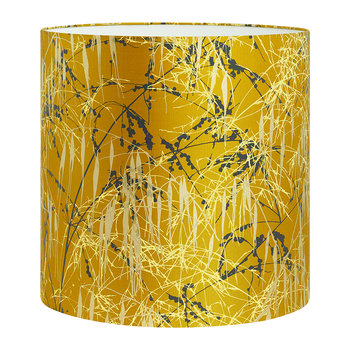 Three Grasses Lamp Shade - Tumeric/Storm/Lemon