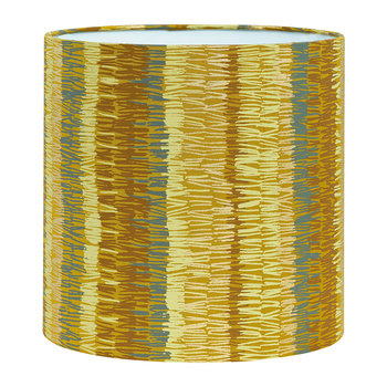 Textured Stripe Lamp Shade - Turmeric