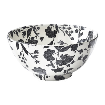 Garden Vine Serving Bowl - Black