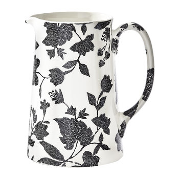 Garden Vine Pitcher - Black