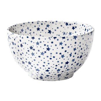 Midnight Sky Dessert Bowl - Light Indigo