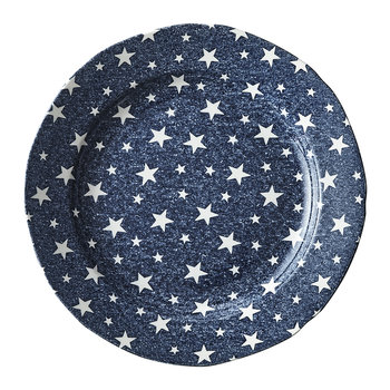 Midnight Sky Salad Plate - Indigo
