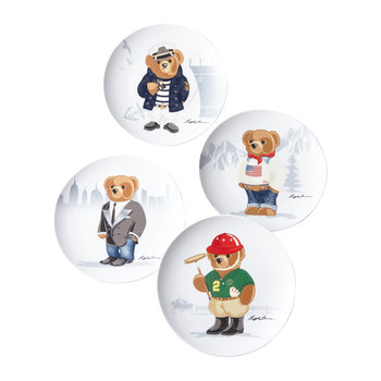 Haven Bears Dessert Plate - Set of 4