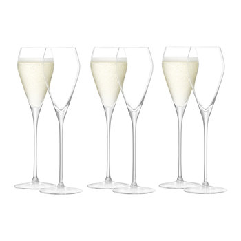 Wine Prosecco Glass - Set of 6