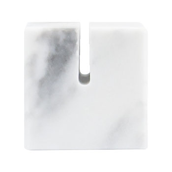 White Marble Place Holders - Square