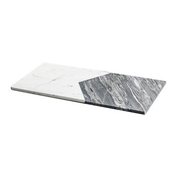 Interlocking Marble Platters - Set of 2