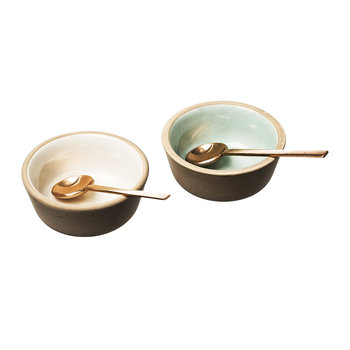 Stoneware Classics - Copper Spoon Condiment Set