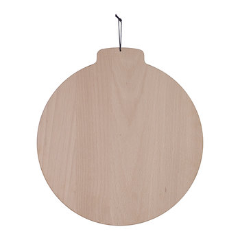 Moon Solid Wood Serving Board - Beech