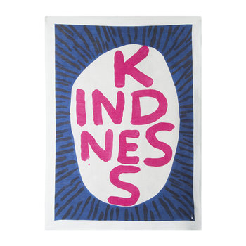 David Shrigley Tea Towel - Kindness