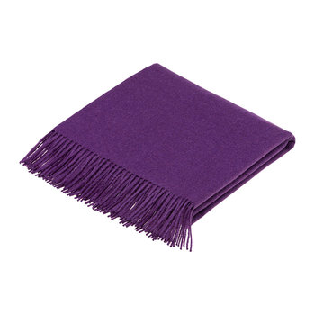 Alpaca Throw - Amethyst