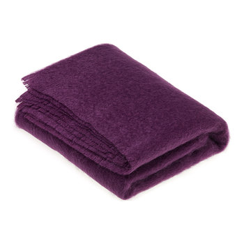 Mohair Throw - Clover