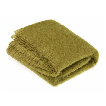 Mohair Throw - Hazel Green