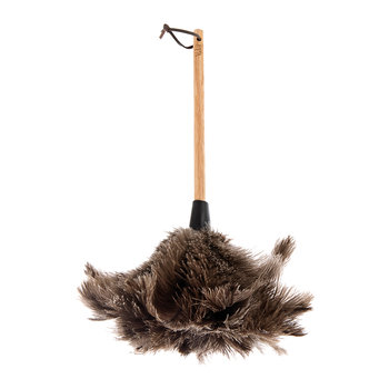Ostrich Feather Duster - Short