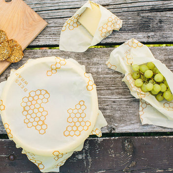 Reusable Food Wraps - Honeycomb