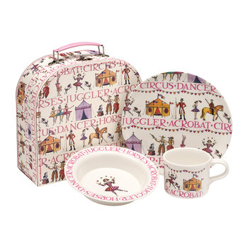 Melamine 3 Piece Children's Set - Circus