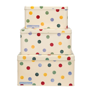 Polka Dot Cake Tins - Set of 3