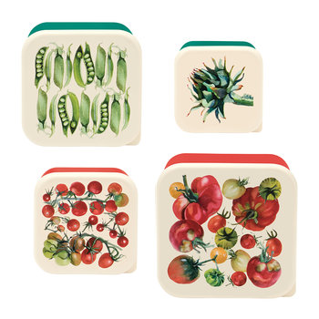 Veg Garden Snack Pots - Set of 4