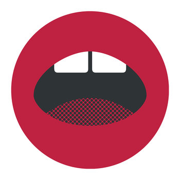 Mouth Round Placemat