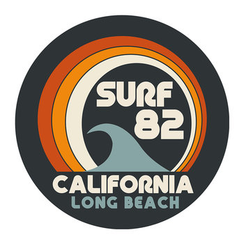 Surf 82 Round Placemat