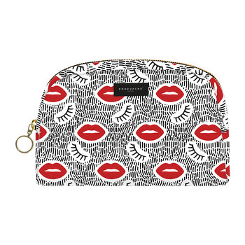Lips and Lashes Make-Up Bag