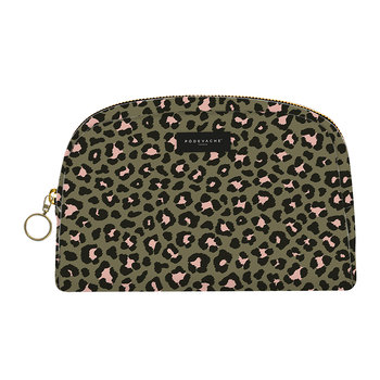 Leopard Print Make-Up Bag