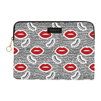 Lips and Lashes iPad Case