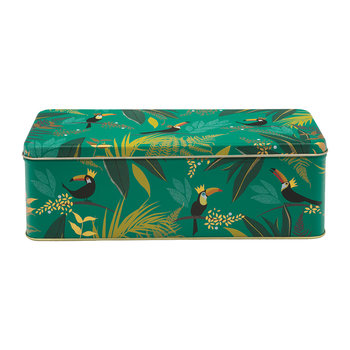 Toucan Rectangular Tin - Long