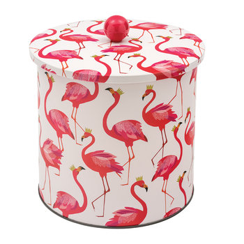 Flamingo Biscuit Barrel