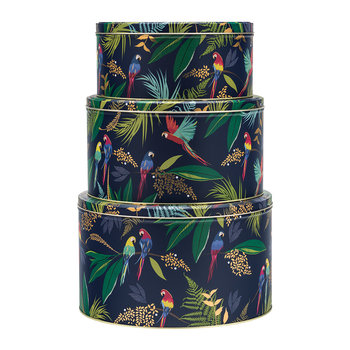 Parrot Cake Tins - Set of 3