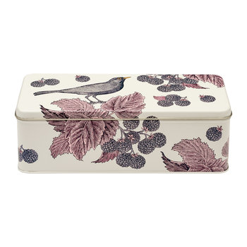 Blackbird & Bramble Rectangular Tin
