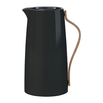 Emma Vacuum Coffee Pitcher - Black