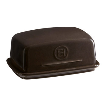 Ceramic Butter Dish - Black