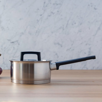 Ron Stainless Steel Saucepan - 16cm