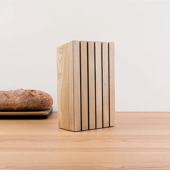 Ron Wooden Knife Block