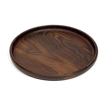 Pure Wood Tray - Round