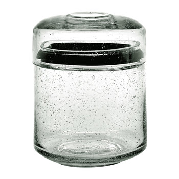 Pure Glass Storage Jar