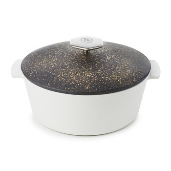 Cosmos Gold Round Cocotte