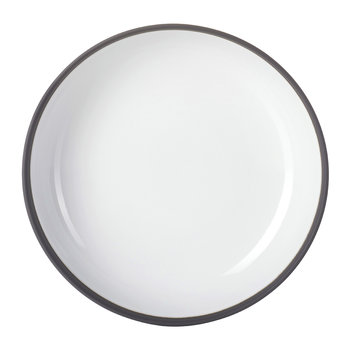 Solid Gourmet Plate - White