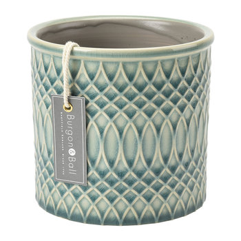Moroccan Celadon Indoor Pot
