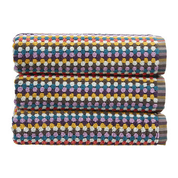 Carnaby Stripe Towel - Multi