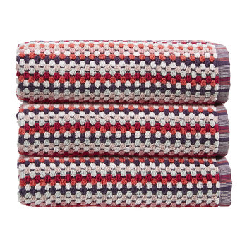 Carnaby Stripe Towel - Berry - Bath