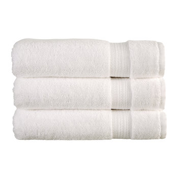 Tempo Towel - White