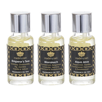 Signature Oils - Set of 3 - Aqua Java/Marrakech/Emperor's Tea