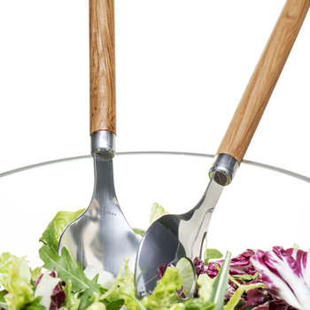 Nature Oval Salad Servers - Set of 2