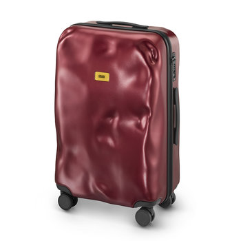 Icon Suitcase - Metal Red - Medium