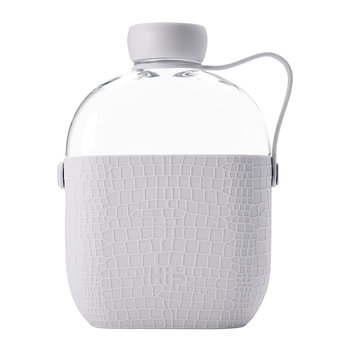 Reusable Bottle with Silicone Sleeve - 650ml - Cloud