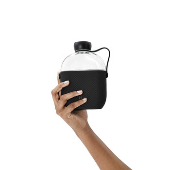 Reusable Bottle with Silicone Sleeve - 650ml - Midnight