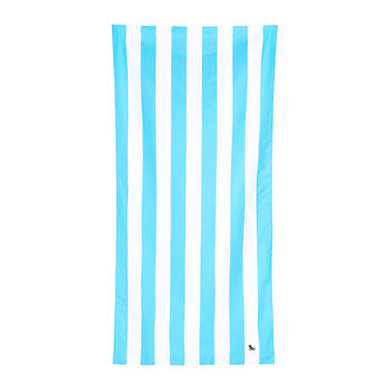 Cabana Light Beach Towel - Tulum Blue