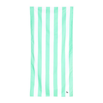 Cabana Light Beach Towel - Narabeen Green