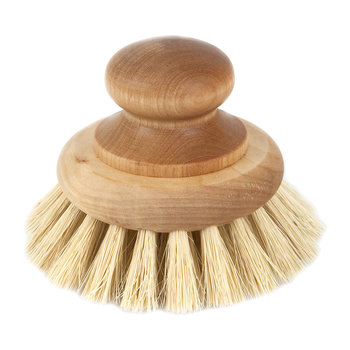 Small Maple Pan Brush - Tampico Fibre